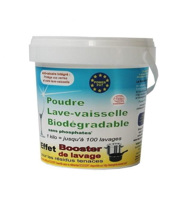 Poudre lave-vaisselle biodégradable ECODETERGENT